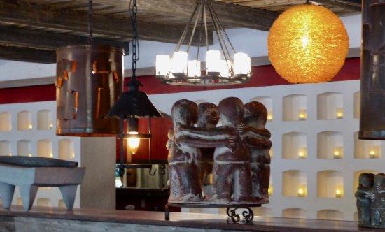 Roslyn, Estado de Nueva York: interior Mexican decor
