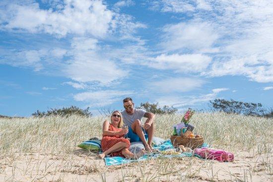 Peregian Beach, Australia: beach picnic