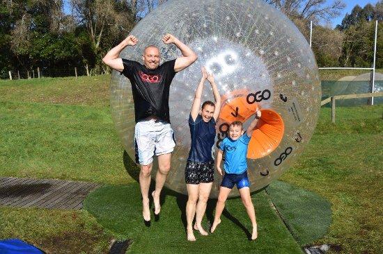 OGO Rotorua: The 'Wild Guys' had a 'ball' HA!!! Cliff, Sandi and Samuel Guy - Australia