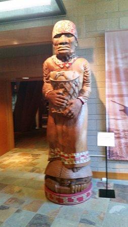 Marysville, WA: 8' Tall Carved Figure