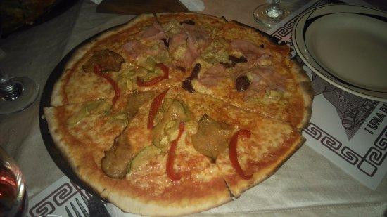 Pizza caprichosa /vegetariana