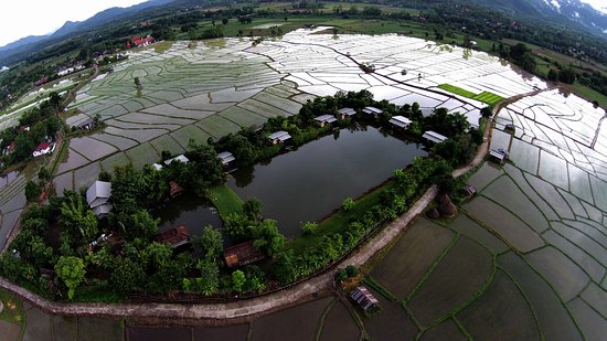 Bueng Pai Farm View from the sky