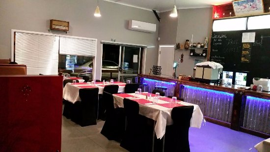 Te Puke, Nowa Zelandia: Our set up