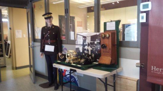 Port Coquitlam, Canada: One of current exhibits in the PoCo Museum