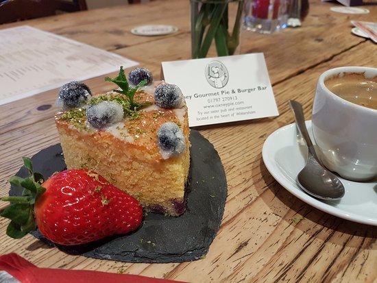 Wittersham, UK: Always homemade desserts available