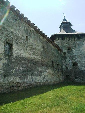 Medzhybizh, Ucrania: Стены крепости