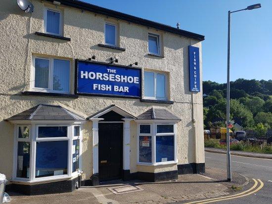 Pontypool, UK: The Horseshoe Fish Bar