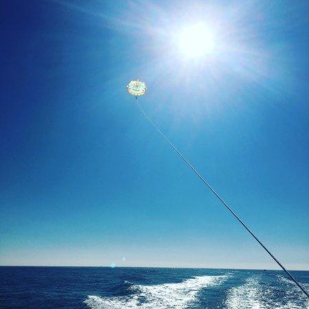 Dana Point, Californië: Clear blue sky