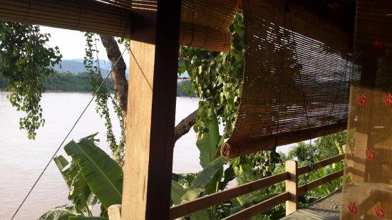 Ock Pop Tok Villa: Terrasse de la chambre