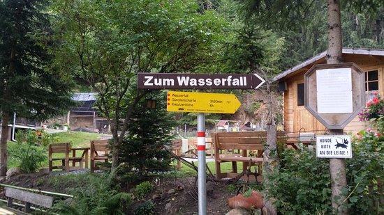 Krakaudorf, Austria: Starting Point of the short walk