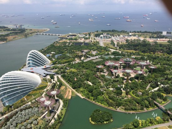 Gardens By Design garden by design inspiring fine garden by design gardening design ideas home plans A View Of Gardens By The Bay From The Marina Bay Hotel