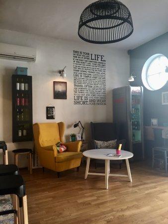 Moka Bar cozy interior