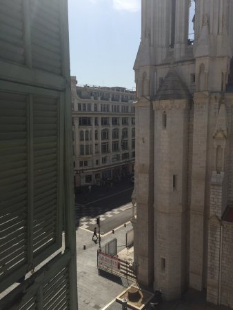 Hotel du Centre : The view from floor 4