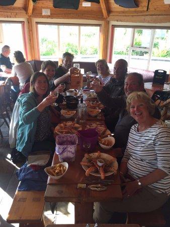 Knoydart, UK: Happy crew