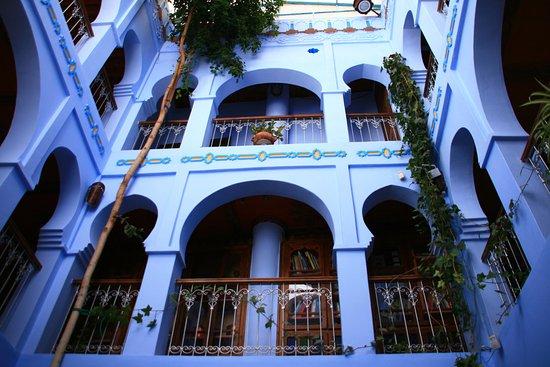 Hotel Riad Casa Hassan Restaurante: Interior del hotel