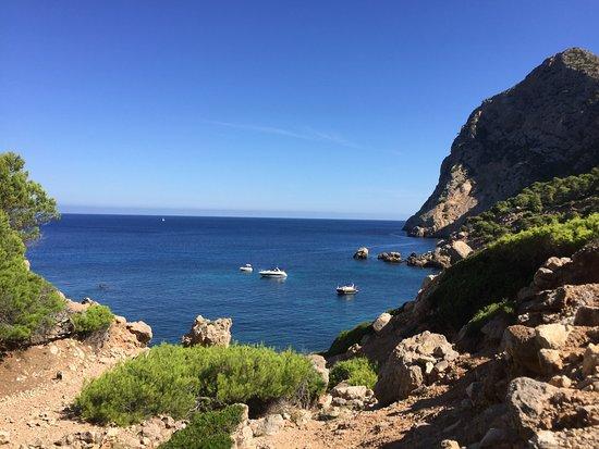 Sant Elm, Spain: Bucht von oben