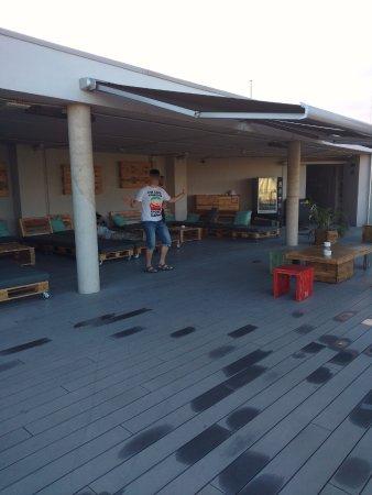 Twentytu Hi-tech Hostel : Dach