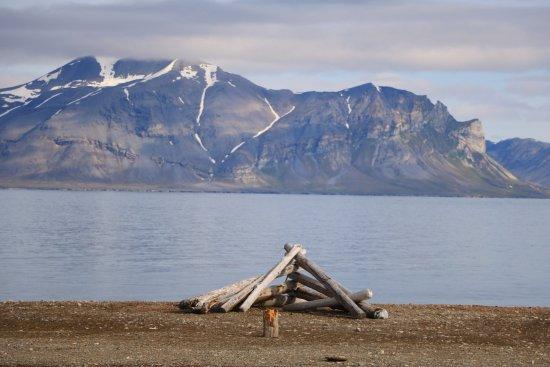Isfjord Radio: Udsigten fra værelset
