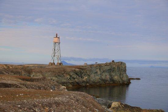 Fyrtårn ved Isfjord Radio