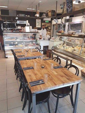 Kävlinge, Sverige: Butik, matrum och catering