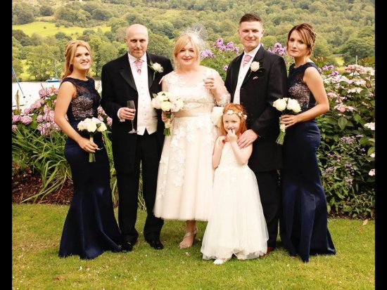 Lakeside Hotel: Beautiful location for a wedding