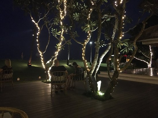 Beautiful setting and food to match