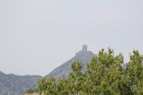 Saint-Paul-de-Fenouillet, Frankrig: Resten van de Catharen