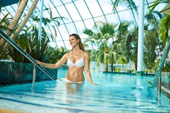 Exklusive Bambus Lounges In Der Aussenanlage Des Palmenparadieses