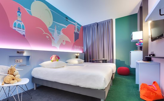 Ibis Styles Nantes Centre Gare : Chambre twin deux lits simples