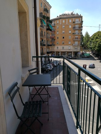 Hotel Siena: Lovely balcony