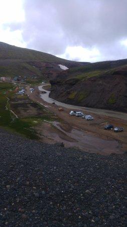 Seltjarnarnes, Island: Camping area