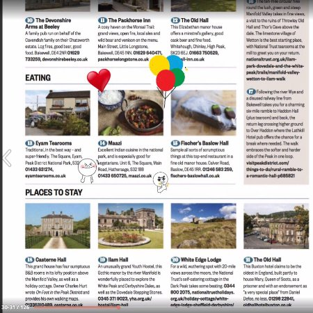 Hathersage, UK: Maazi got mentioned on BBC Country Life Mag June issue!