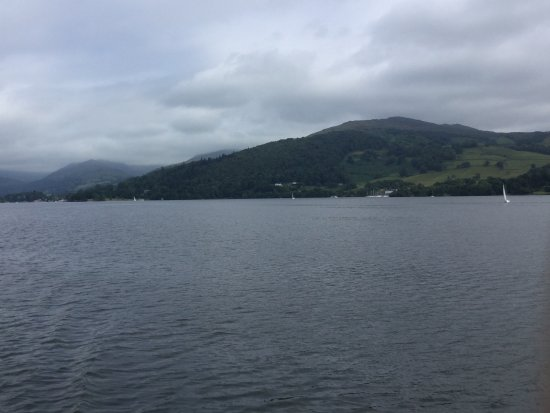 Bowness-on-Windermere, UK: View from the steamer :Swan