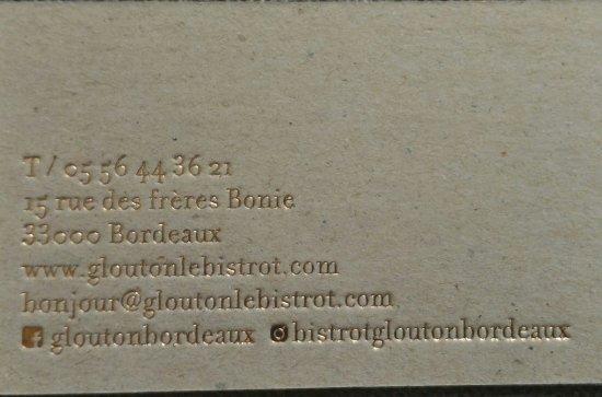 Glouton le Bistrot: P_20170801_132613_p_1_large.jpg