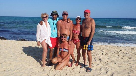 SENTIDO Aziza Beach Golf & Spa: Pétanque team