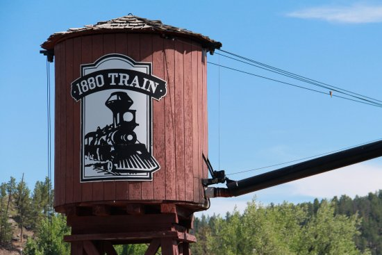 1880 Train/Black Hills Central Railroad: Water Tower