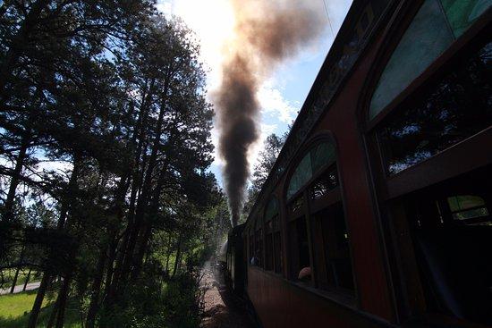 1880 Train/Black Hills Central Railroad: Choo choo!