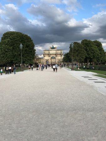 Jardin des Tuileries - Bild von Jardin des Tuileries, Paris ...