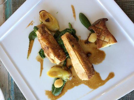 Nieul, Prancis: Suprême de volaille... le plat des enfants gastronomes