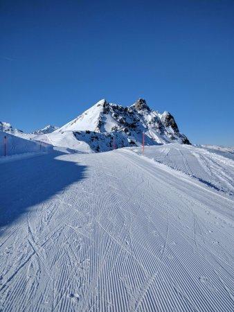 Silvretta Parkhotel Klosters: Beautiful weather.