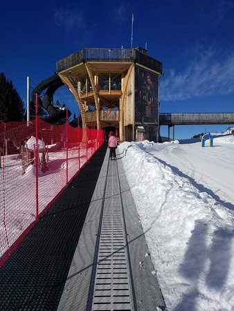 Silvretta Parkhotel Klosters: First day