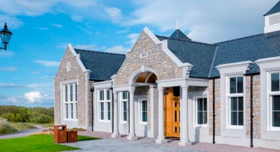 Balmedie, UK: Located within the Clubhouse alongside the championship golf course at Trump International Golf