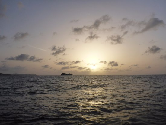 North Sound, Virgen Gorda: Sunset