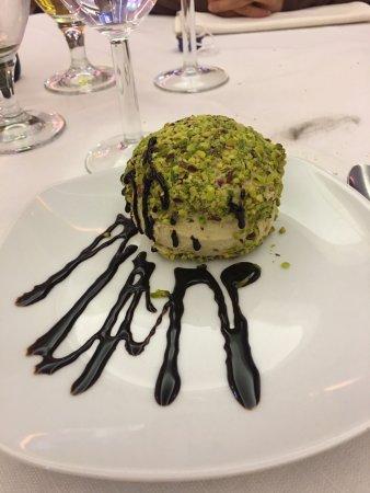Arluno, Italia: tartufo al pistacchio