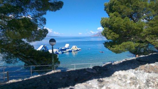 Bluesun Hotel Soline: Hotel Soline view of the sea