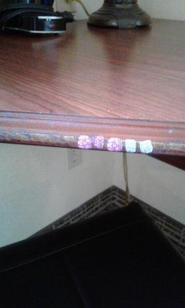 Baymont Inn & Suites Martinsville: Desk  Fingernail Art