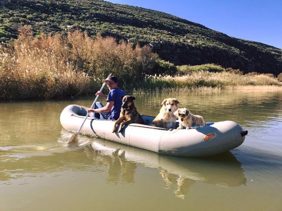 Cederberg, Sudáfrica: Paddling on the Doring River