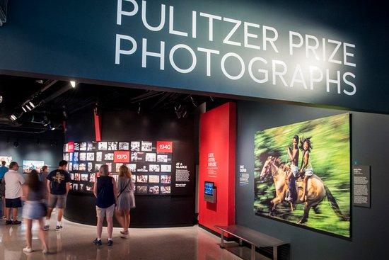 Newseum: 75 years of powerful, award-winning photography are on display.