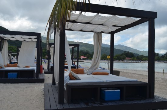 Image result for labadee beach bed