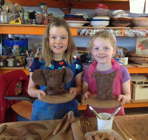 Wick, UK: An example of the creativity that can come out of a children's workshop!